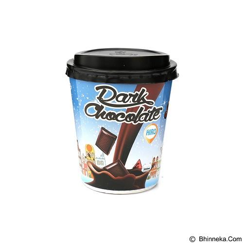 HIRO ONE Dark Chocolate Papercup 10 pcs [HD_003] (Merchant) - Coklat Kemasan Siap Minum