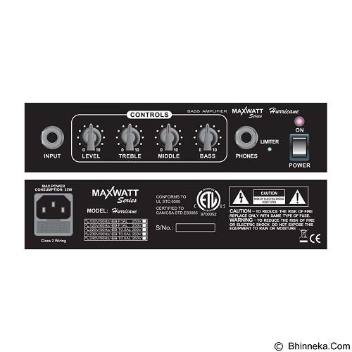 HIWATT Maxwatt [Hurricane] - Guitar Amplifier