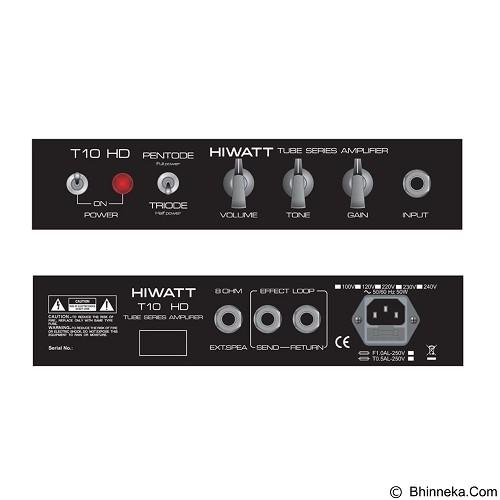 HIWATT Tube [T10HD] - Gitar Amplifier