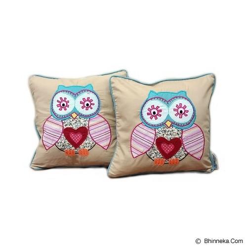 HOBIHOUSE Cushion Owl - Bantal Dekorasi