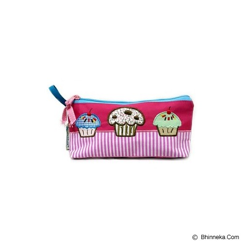 HOBIHOUSE Pencil Case Cupcake - Tempat Pensil