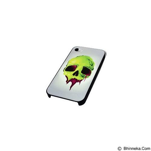 HOLAROCKA Color Skull 01 PVC iPhone 4/4S Case - Casing Handphone / Case