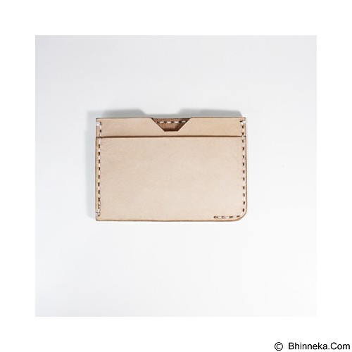HOLAROCKA Slim Card Wallet Bana 01 - Natural - Dompet Pria