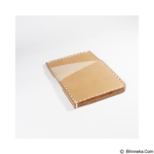 HOLAROCKA Slim Card Wallet Bana 01 - Tanned - Dompet Pria