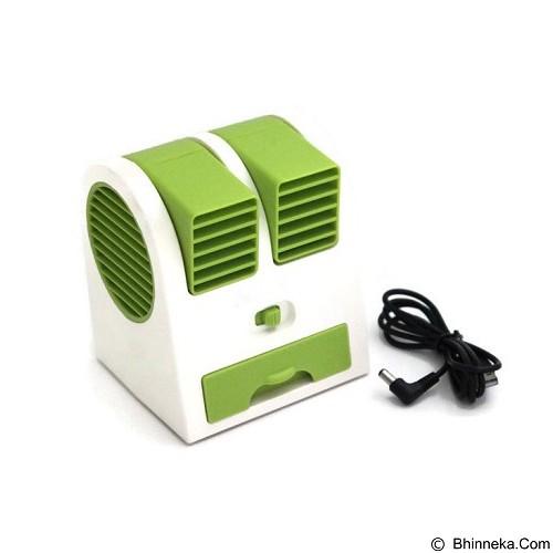 HOME KLIK AC Mini Double Blower - Green - Ac Portable