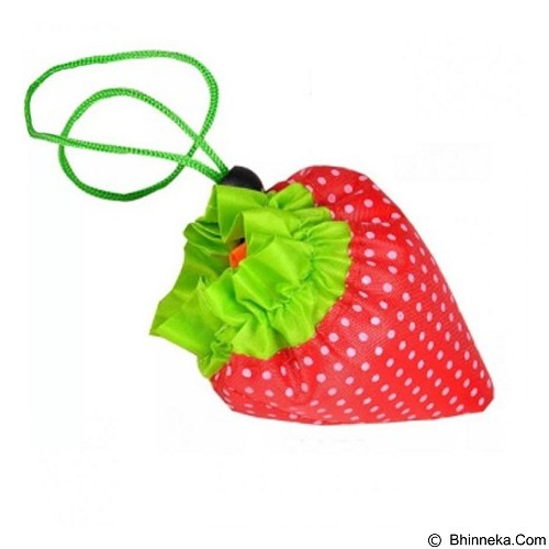 HOME KLIK Kantong Belanja Serbaguna Strawberry Baggu Bag (Merchant) - Travel Bag