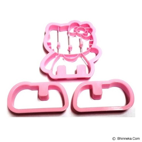 HOME SHOPPING ONLINE Cetakan Hello Kitty 3D Mama Cook Bread Mold - Cetakan Kue