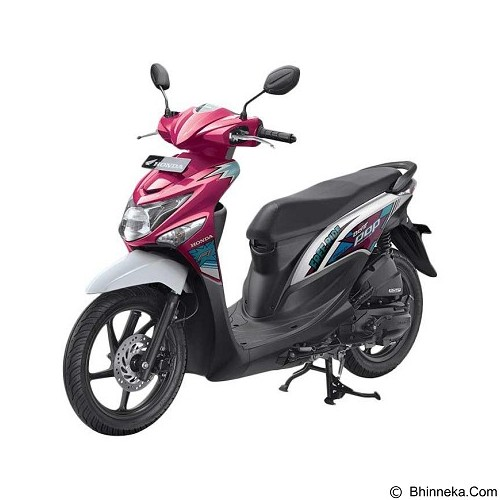 HONDA All New BeAT eSP FI POP Comic CBS (OTR Jakarta) - Voice Magenta White (Merchant) - Motor Matic