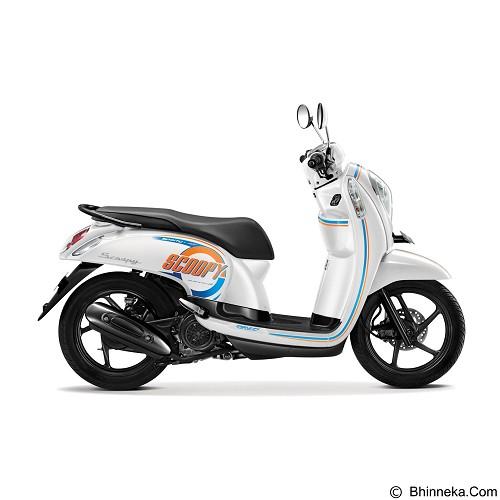 HONDA New Scoopy eSP Sporty (OTR Jakarta) - Capital White (Merchant) - Motor Matic