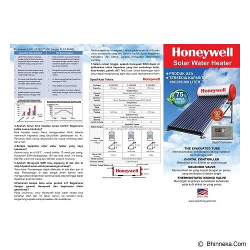 HONEYWELL Water Heater Tenaga Surya [CA58-1815] - Water Heater Tenaga Surya