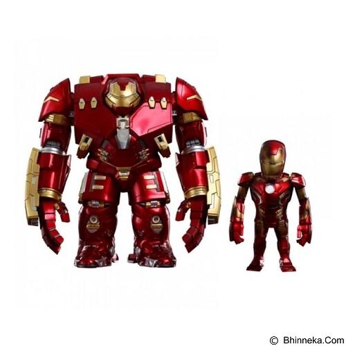 HOT TOYS Artist Mix Avengers Age of Ultron Iron Man Hulk Buster dan Mark 43 Damage Ver (Merchant) - Movie and Superheroes