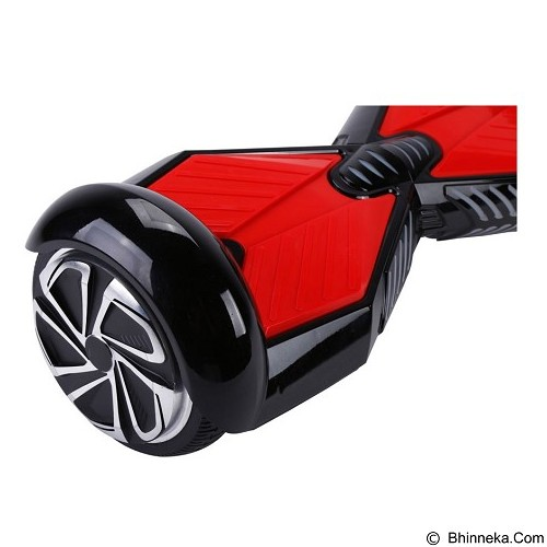 HOVERBOARD Swing Car Smart Endurance Electric Unicycle Scooter 2nd Gen 6.5 Inch - Black Red (Merchant) - Skuter Listrik