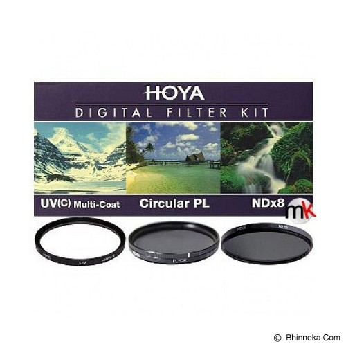 HOYA 52mm Digital Filter Kit - Filter Round Kit