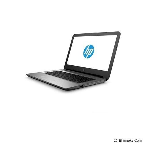 HP Notebook 14-ac004TX Non Windows - Silver (Merchant) - Notebook / Laptop Consumer Intel Core I3