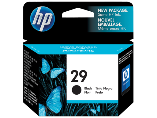 HP Black Ink Cartridge 29 - Tinta Printer Hp