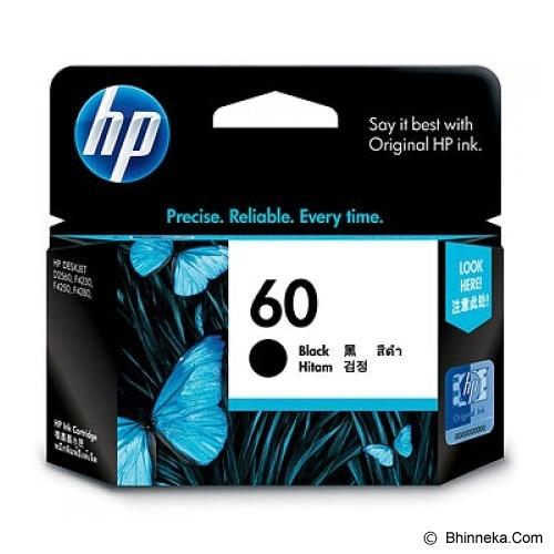 HP Black Ink Cartridge 60 [CC640WA] (Merchant) - Tinta Printer Hp