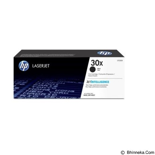 HP Black LaserJet Toner Cartridge [CF230X] - Toner Printer Hp