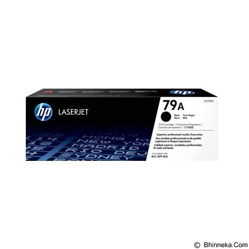 HP Black LaserJet Toner Cartridge [CF279A] - Toner Printer Hp