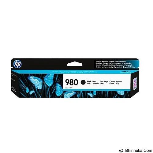 HP Black Original Ink Cartridge 980 [D8J10A] - Tinta Printer Wide Format HP