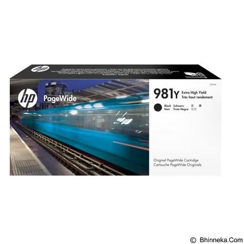 HP Black Original PageWide Cartridge 981Y [L0R16A] - Tinta Printer Wide Format HP
