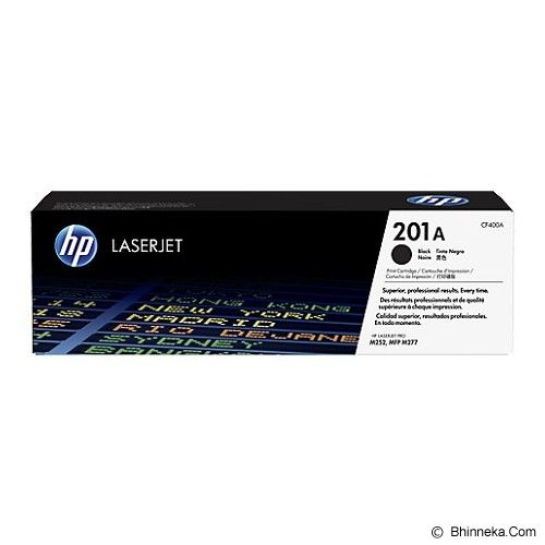 HP Black Toner 201A [CF400A] - Toner Printer Hp