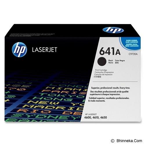 HP Black Toner 641A [C9720A] (Merchant) - Toner Printer Hp