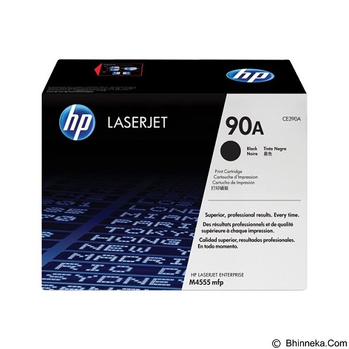 HP Black Toner 90A [CE390A] - Toner Printer Hp