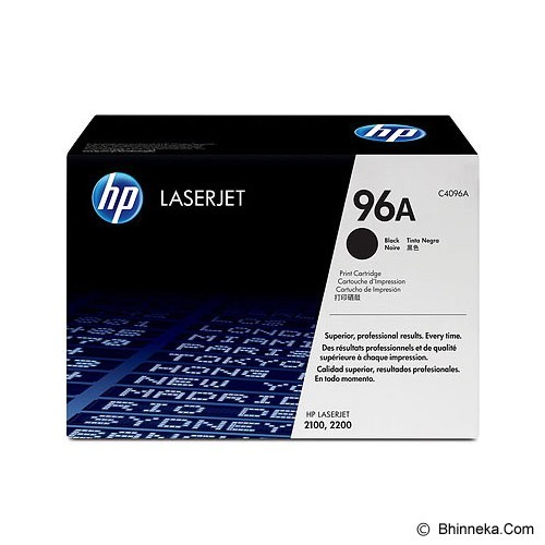 HP Black Toner 96A [C4096A] (Merchant) - Toner Printer Hp