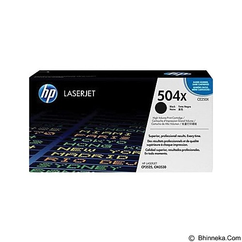 HP Black Toner [CE250X] - Toner Printer Hp