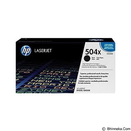 HP Black Toner [CE250X] - Toner Printer Hp