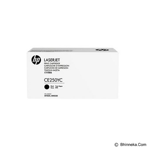 HP Business 504Y Black Laser Toner Cartridge [CE250YC] - Toner Printer HP