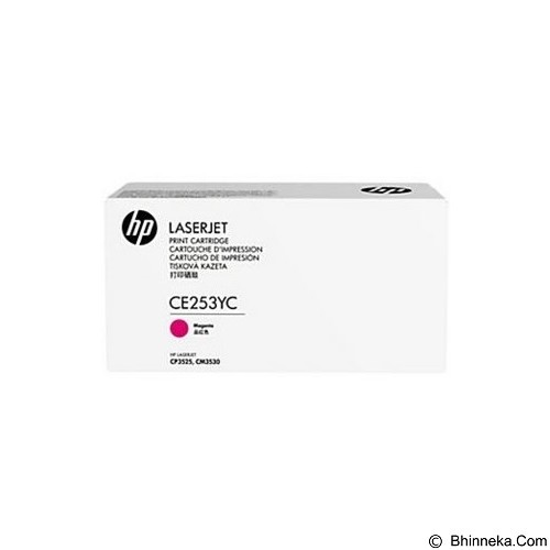 HP Business 504Y Magenta Laser Toner Cartridge [CE253YC] - Toner Printer Hp