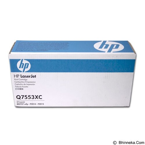 HP Business 53X Black Toner [Q7553XC] - Toner Printer Hp