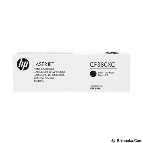 HP Business Black Contract Original LaserJet Toner Cartridge [CF380XC] - Toner Printer Hp