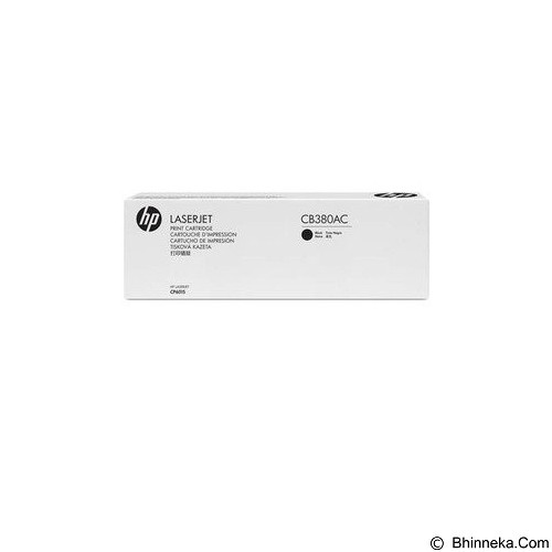 HP Business Black Optimized Contract Original LaserJet Toner Cartridge [CB380YC] - Toner Printer HP