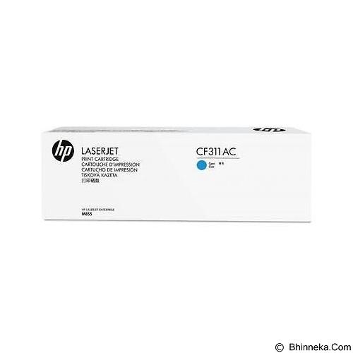HP Business Cyan Contract Original LaserJet Toner Cartridge [CF311AC] - Toner Printer Hp