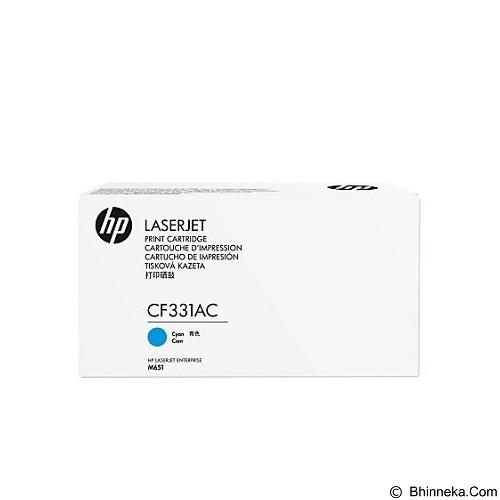 HP Business Cyan Contract Original LaserJet Toner Cartridge [CF331AC] - Toner Printer Hp