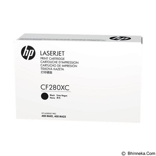 HP Business High Yield Black Contract Original LaserJet Toner Cartridge [CF280XC] - Toner Printer Hp