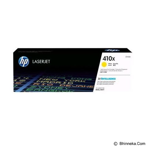 HP Business Yellow Contract LaserJet Toner Cartridge [CF412XC] - Toner Printer Hp