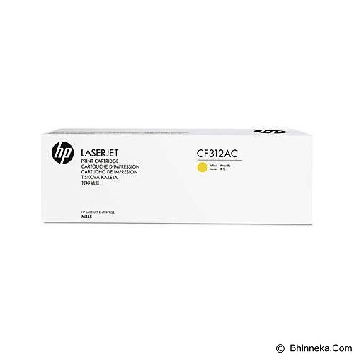 HP Business Yellow Contract Original LaserJet Toner Cartridge [CF312AC] - Toner Printer Hp