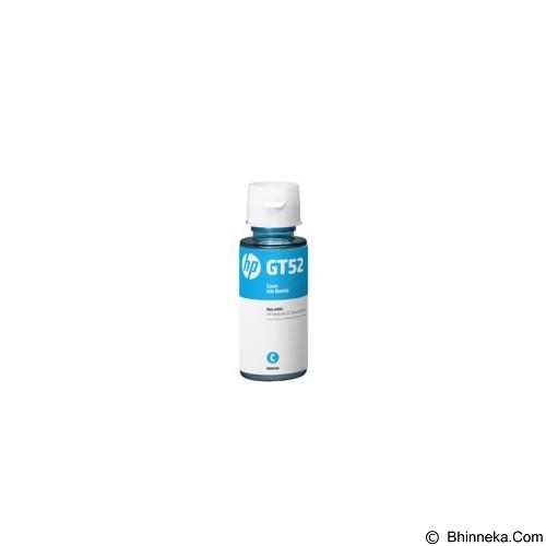 HP Cyan Ink Bottle GT52 [M0H54AA] - Tinta Printer Hp