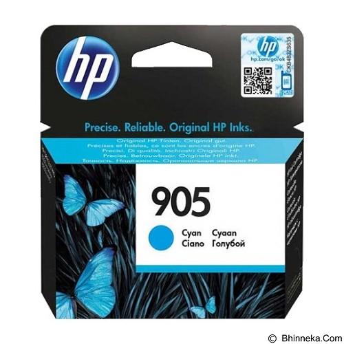 HP Cyan Ink Cartridge 905 [T6L89AA] - Tinta Printer Hp