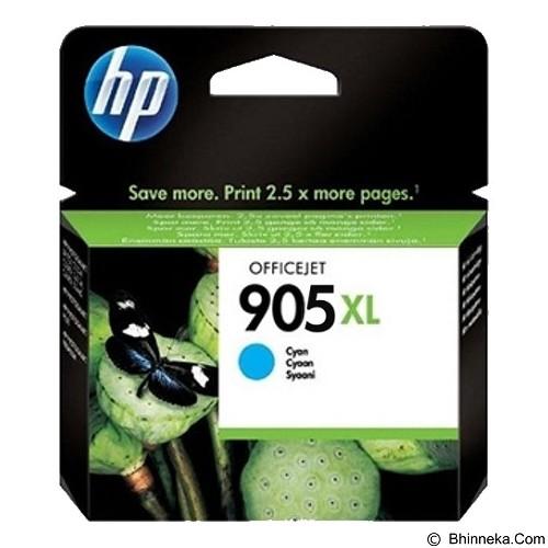 HP Cyan Ink Cartridge 905 XL [T6M05AA] - Tinta Printer Hp