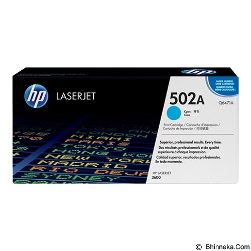 HP Cyan Toner [Q6471A] - Toner Printer Hp