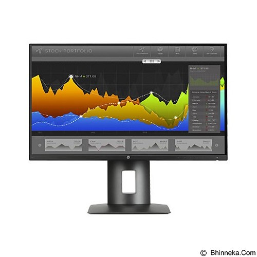 HP LED Monitor Narrow Bezel IPS Display Z25n 25 Inch [K7C01A4] - Monitor Led Above 20 Inch