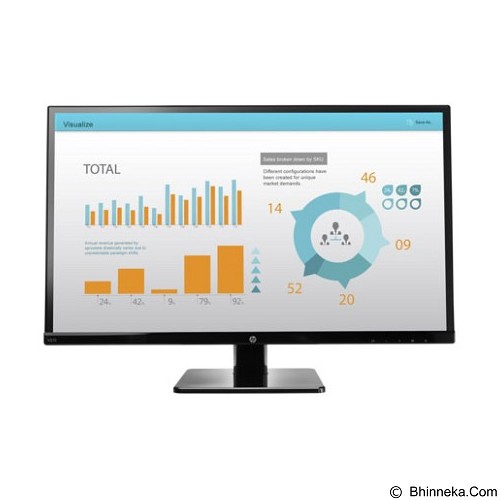 HP LED Monitor V272 27 Inch [M4B78AA] - Monitor Led Above 20 Inch
