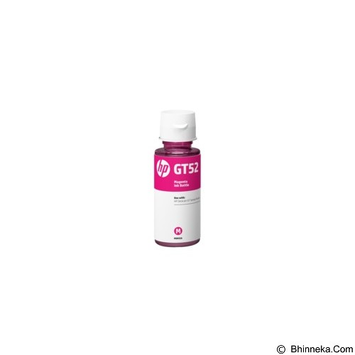 HP Magenta Ink Bottle GT52 [M0H55AA] - Tinta Printer Hp