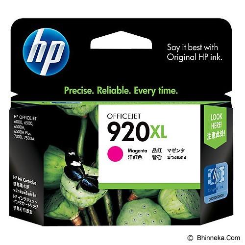 HP Magenta Ink Cartridge 920XL [CD973AA] (Merchant) - Tinta Printer Hp