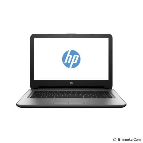 HP Notebook 14-ac001TU Non Windows - Silver (Merchant) - Notebook / Laptop Consumer Intel Celeron