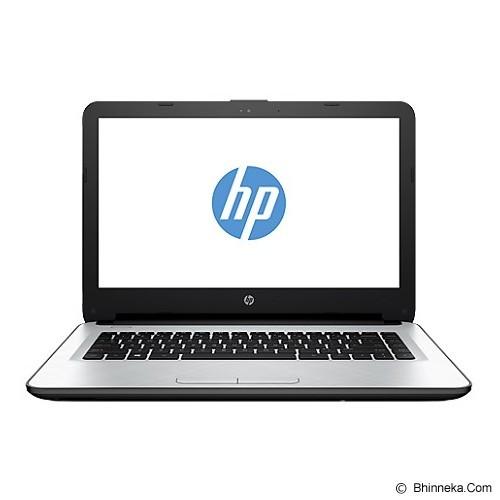 HP Notebook 14-af118AU Non Windows - Silver (Merchant) - Notebook / Laptop Consumer Amd Quad Core